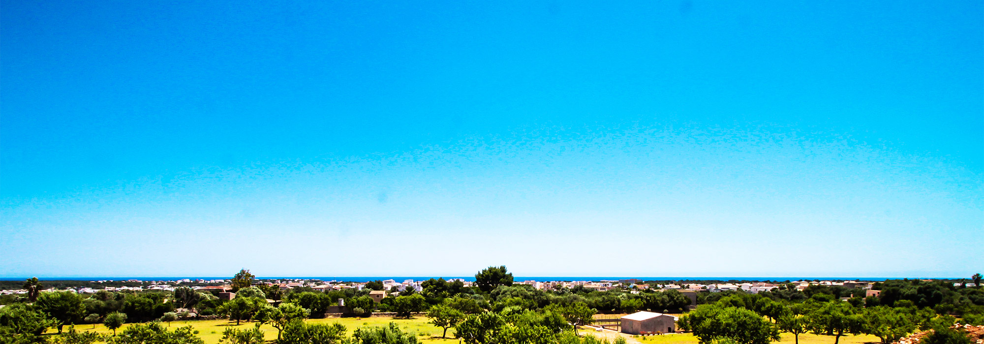 Country house under construction near Porto Colom with sea view from the upper floor