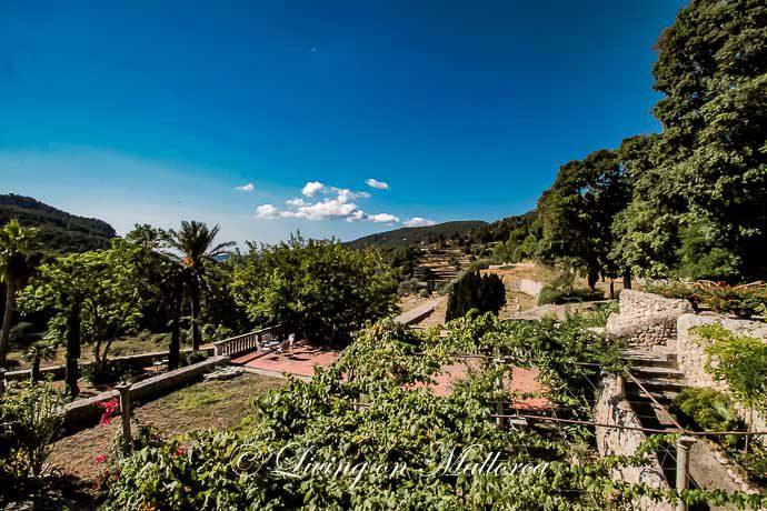 LOM0022-25 Garten und Panoramablick
