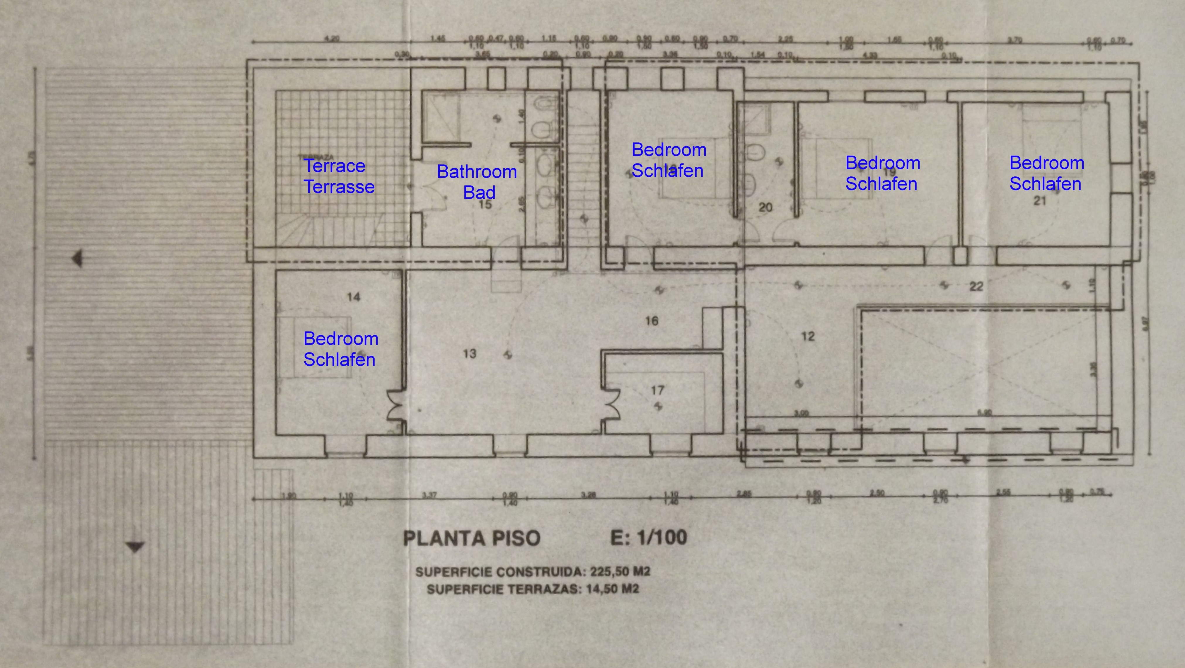 LOM0052 Grundriss Obergeschoss