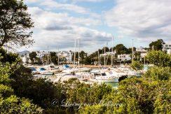 LOM0004-02 Blick vom Grundstück auf den Hafen Cala D'Or