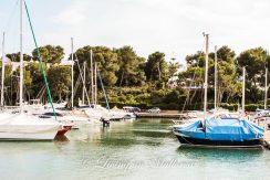 LOM0004-04 Blick über den Hafen Cala D'Or auf das Grundstück
