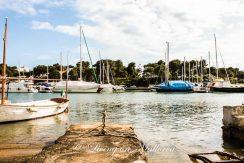 LOM0004-06 Blick über den Hafen Cala D'Or auf das Grundstück